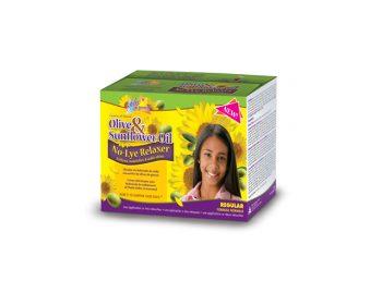 Olive & Sunflower Oil Single Kids Relaxer Regular