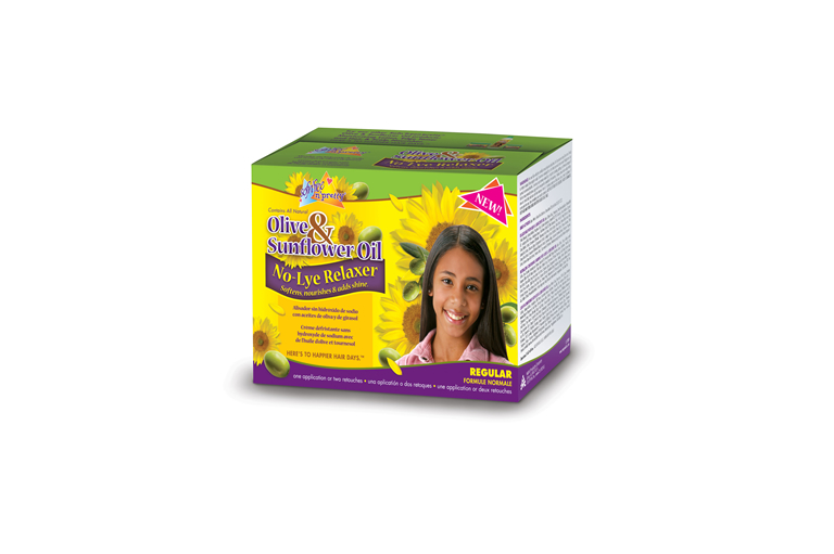 Olive & Sunflower Oil Single Kids Relaxer Regular