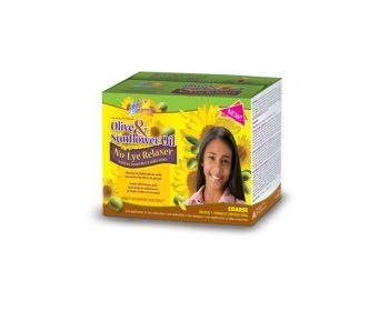 Olive & Sunflower Oil Single Kids Relaxer Coarse