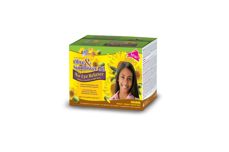 Olive & Sunflower Oil Single Kids Relaxer Coarse
