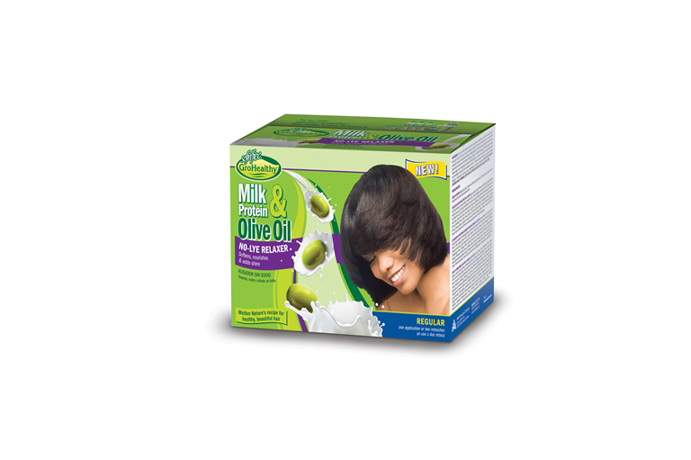 Milk & Olive Single Kit Relaxer Regular Kit