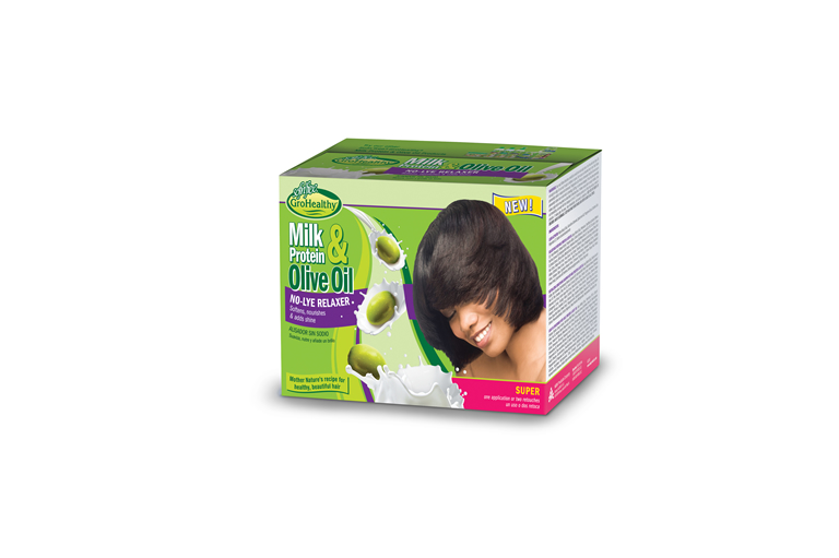 Milk & Olive Single Kit Relaxer Super Kit
