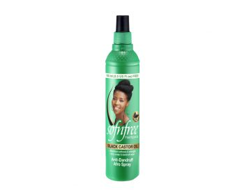 Sofnfree Black Castor Oil Anti-Dandruff Afro Spray