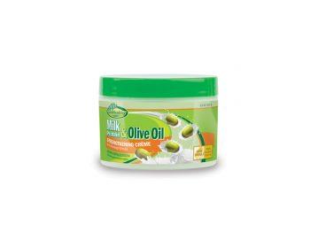Milk & Olive Strengthening Cream in Jar